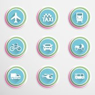 Transport buttons