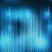 abstract Blue light technology communicate background, vector il