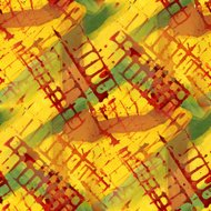 pattern design seamless yellow, red, green watercolor texture ba