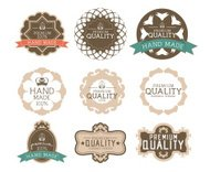 Vintage label Style with Nine Design Element , collection 14