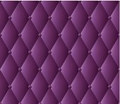 Purple leather upholstery pattern.
