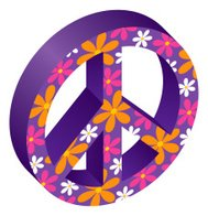 Flowered Peace Symbol