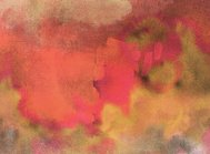 Abstract painted orange and red  art backgrounds.