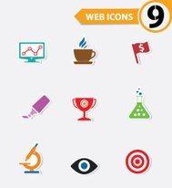 Website icons,vector