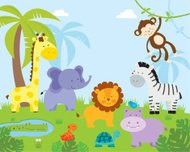Jungle Safari animales