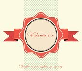 Valentine's Day Vintage Card