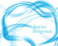 Blue and White Waves Abstract Design