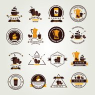 Coffee badge,label, icon menu.