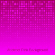 Abstract Bright Pink Background