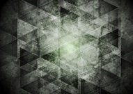 Dark grey geometry grunge background