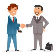 Businessmen and Business Deal