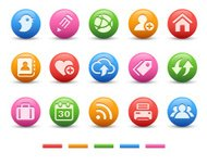 Personal Blog Icons | Satin Series