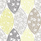 Floral abstract seamless  background.