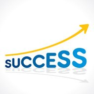 creative success increase graph design