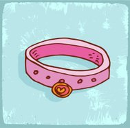 Cartoon pet collar