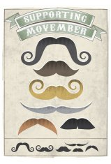 Hand Drawn Vintage Moustaches
