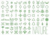 Nature Line Icons