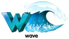 Letter W for wave