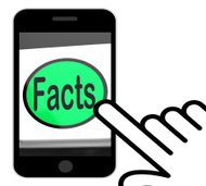 Facts Button Displays True Information And Data