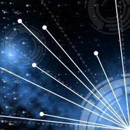 Tech Space Shows Astronomy High-Tech And Cosmos