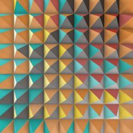 Abstract 3d geometric pattern. Polygonal background.