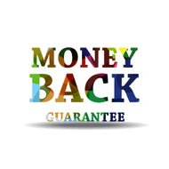 Money Back Guarantee Colorful Vector Icon Design