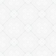 White vintage geometric texture in art deco style