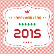 Happy new year 2015 greeting card12