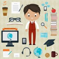 Education and learning concept