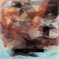 Abstract polygonal vector background pattern.