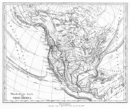 Victorian Map of North America