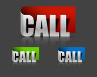 stickers for call design