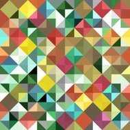 Seamless geometric background. Abstract vector Illustration. Mos
