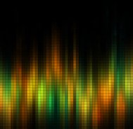 abstract colorful check pattern technology background