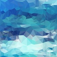 Blended lighting abstract geometric background