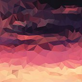 Blended lighting abstract geometric backgroundBlended lighting abstract geometric background