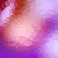 Mixed lighting abstract geometric background