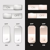 Set of ON-OFF web switches
