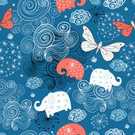 Beautiful decorative graphics butterfly