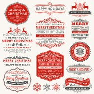 Christmas Frames,Labels and Badges
