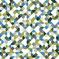 Vector colorful geometric background, mosaic abstract seamless