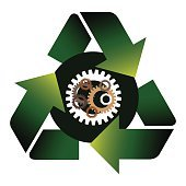 Recycle gear