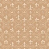 damask background. wallpaper, vintage seamless pattern
