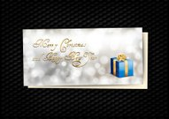 Blue Gift Card