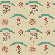 ornament seamless of floral graphic design elements