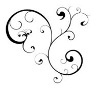Swirl Scroll Vector Design
