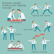 Conflict business