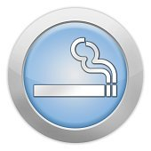 Icon, Button, Pictogram Smoking Area