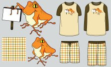 Tech Pack: Froggy for Hire: Mens Pajamas