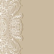 Abstract background, frame border lace pattern, invitation greet